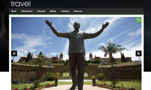 bbc travel mandela trail